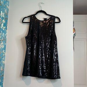 Black Sparkly BananaRebublic dress.